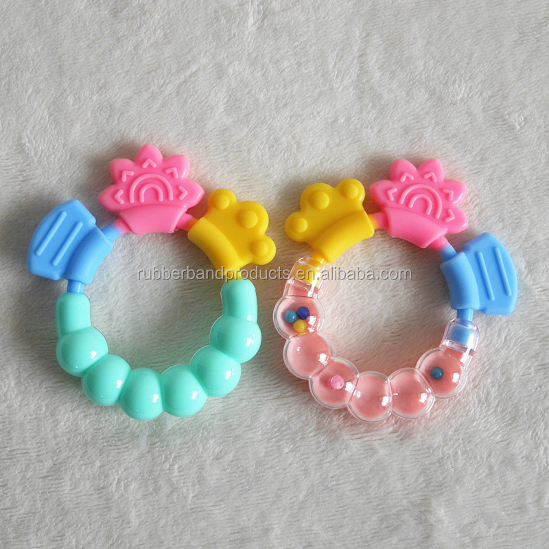 Chewable Baby Soft Silicone Teether Toys, Infant Teething Teethers