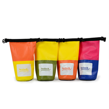 Perfect Promotional Gift 2L mini waterproof wet dry bag for hold the phone keys