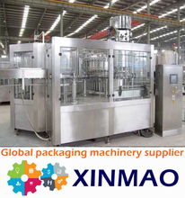 Automatic 3-in-1 carbonated beverage filling machine/gas drink/equipment /carbonated soda water mixing plant