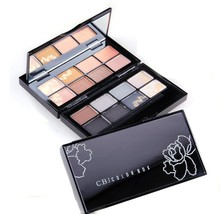 Popular girl's favourate cosmetic makeup 16 colors eye shadow palette