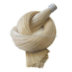 Jinqu Golden brand of Good quality white horse hair for violin bow