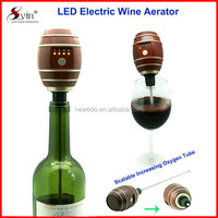NT-SV05 BPA free LED screen electronic wine aerator with trade assurance