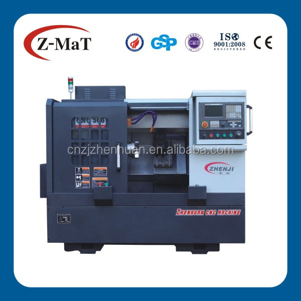 CNC300 high speed Siemens controller used metal lathe machine for sale