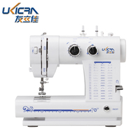 domestic portable automatic thread winding zipper button making electric sewing machine