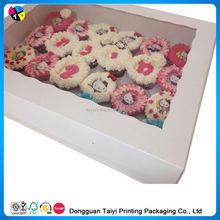 2014 Cheap printing beautiful cupcake boxchina