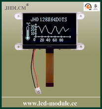 lcd module dot matrix display JHD12864-G45IBSW-BL