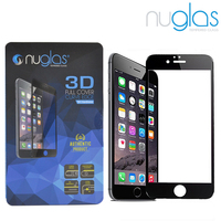 Nuglas For iPhone 6/6S tempered glass screen protector with 3D curved edge w Oleophobic coating w 99 % clarity