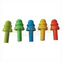safety water proof reusable Silicon rubber earplugs