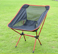 Outdoor moon beach folding chairs with carrying bag wholesale