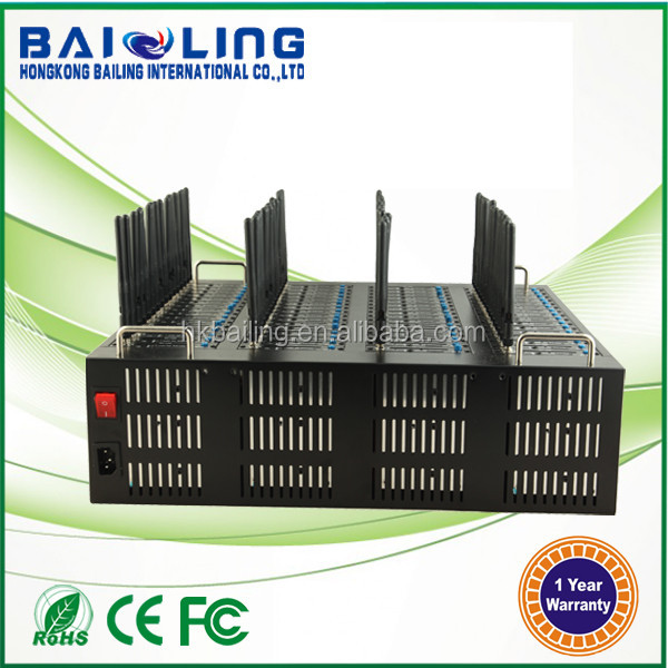 High Speed 3G HSDPA UMTS EM770W 64 port gsm modem pool bulk sms gateway
