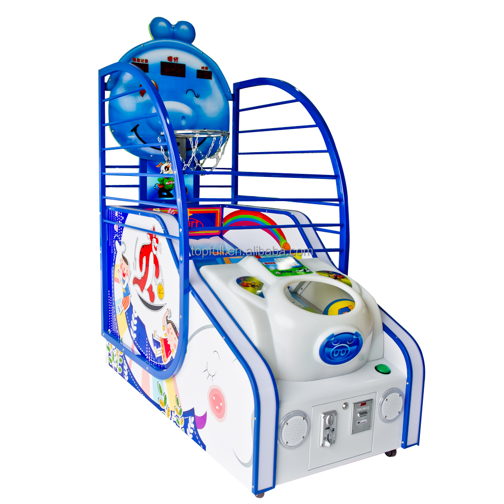Hot selling Kids coin operated simulator game machine carnival basketball game for sale