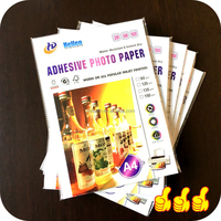 Adhesive Glossy Photo Paper 135gsm A4