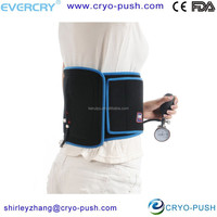 reusable cold -hot back support brace with back support belt