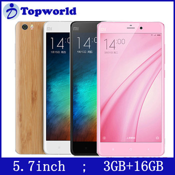 Low Price China Mobile Phone XIAOMI Mi Note Snapdragon 801 Quad Core 2.5GHz Smartphone