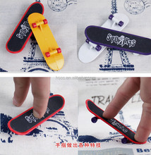 Plastic sandpaper finger toy skateboard friends gifts business presents
