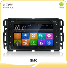 7 inch android system car dvd player car radio gps navigation for GMC