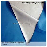 polyester taffeta 190T silver coating for tent