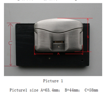 HF-FL01 High Security Luggage Bag and Case Biometric Briefcase Fingerprint Lock