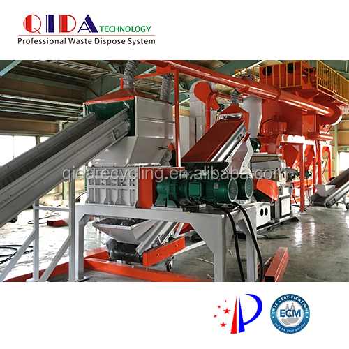 High separation rate QD-1000A e waste pcb recycling machine