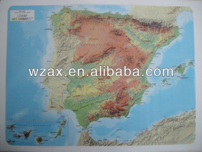 2016 new world map pp cheap dinner table mats plastic placemat