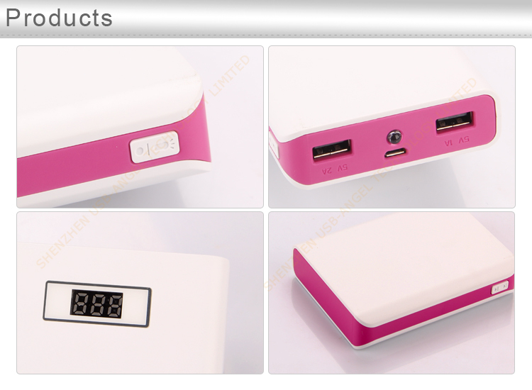 The best ultra slim portable power bank for mobile phones with high quality