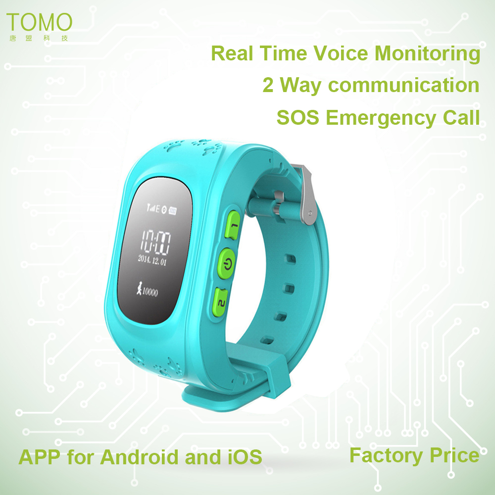 kids GPS watch.Child SOS WATCH/gps tracking by phone number