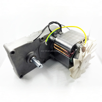 High Torque Low rpm Electric AC 25Nm Shape Pole Gear Motor for Oven and Toaster