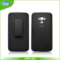 Manufacture mobile back covers combo holster for LG D958