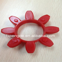 polyurethane lovejoy rubber Shaft Coupling from chinese supplier