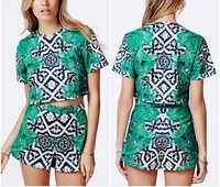 New Fashion OEM Latest Design Girl Top Custom Printed Crop Tops