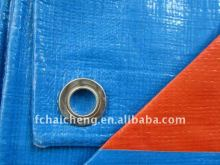 Transparent colored plastic&PE Tarpaulin in roll