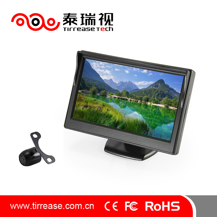 Hot Sale digital IP68 lcd color car monitor rear view system