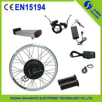 Ce approved e bike electric bicycle conversion 500w hub for 500w hub motor kit