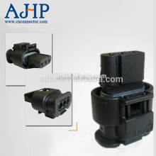 Pa66 GF25 automotive plug connectors, 3 pin waterproof terminal connector female
