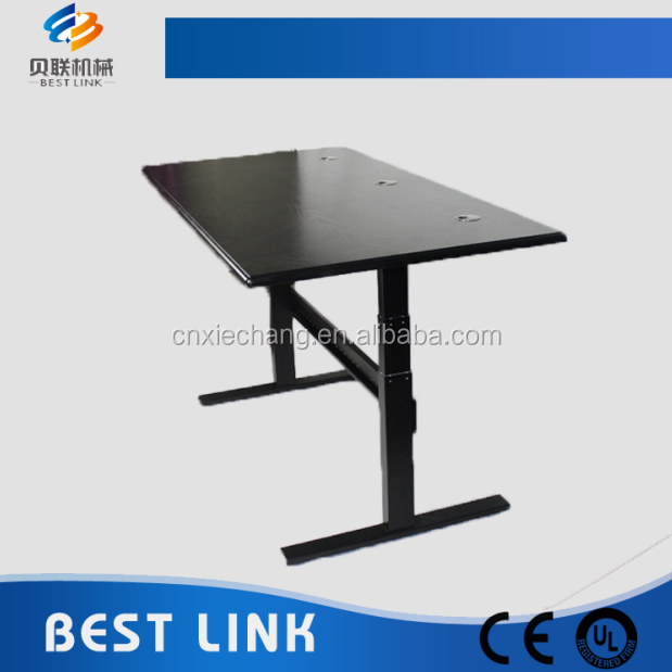 Ergonomic office furniture adjustable height sit stand work table/desk