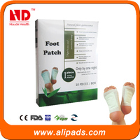 Rose essence bamboo vinegar detox foot patch