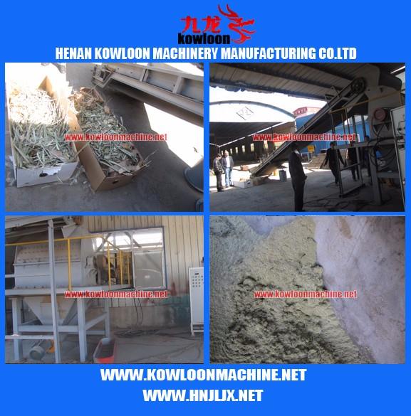 Unique screen sawdust making machine