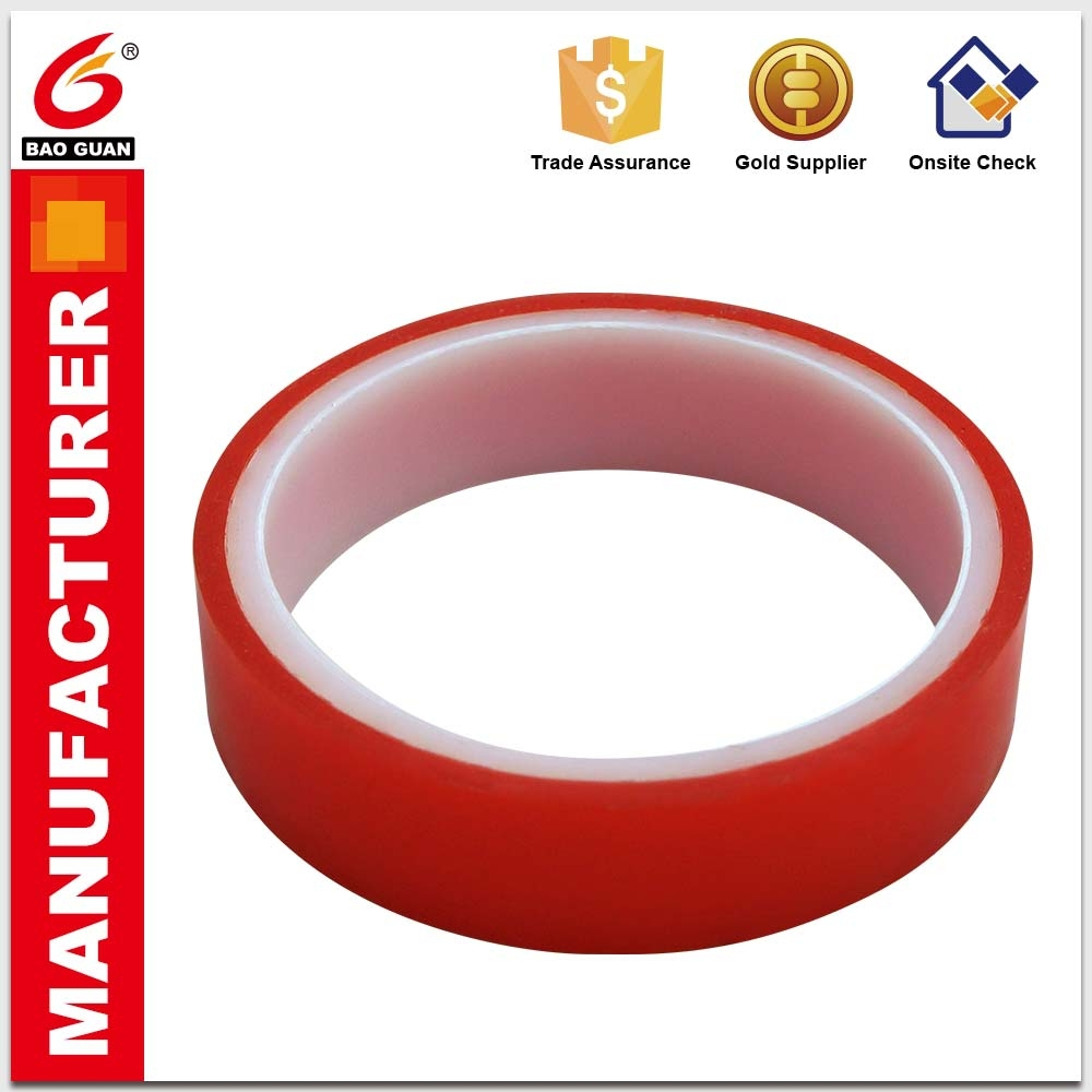 Top Sale Good Quality Double Sided Paper Acrylic Adhesive PET Tape For Die-Cutting