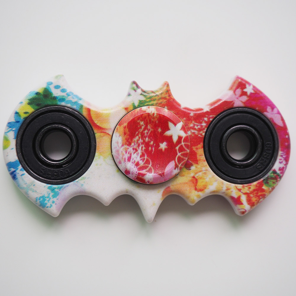 ABS Camouflage Batman Spinner Good Quality Bearing Hand Spinner