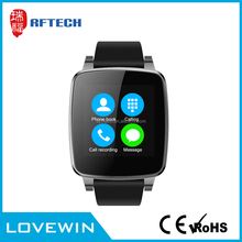 Shenzhen Factory 1.54 inch touch screen android smart watch,BT 4.0 smart watch phone