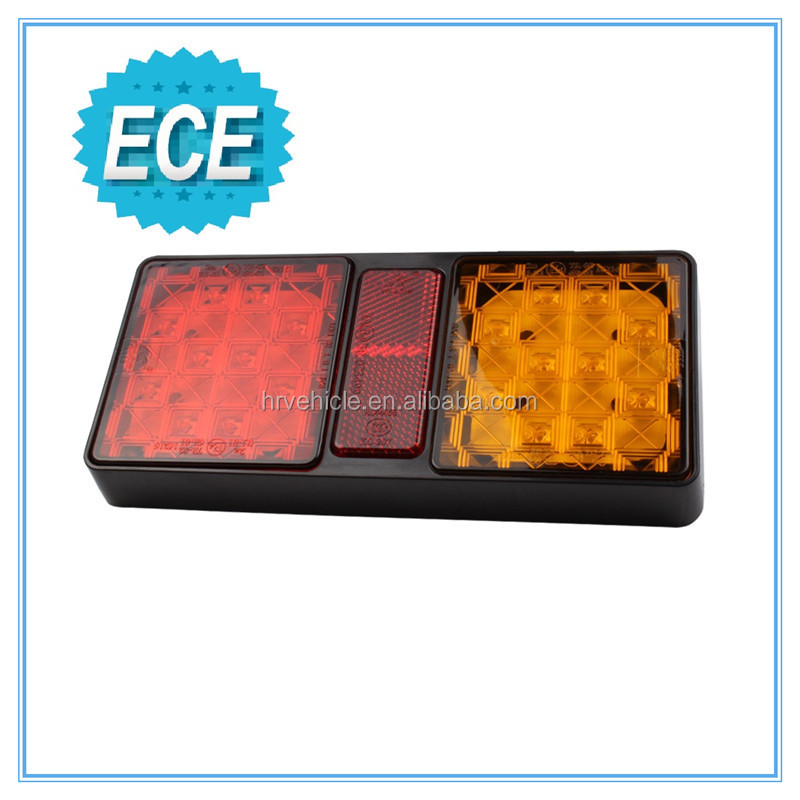 E-mark approval combinational trailer lamp, turn signals truck lamp