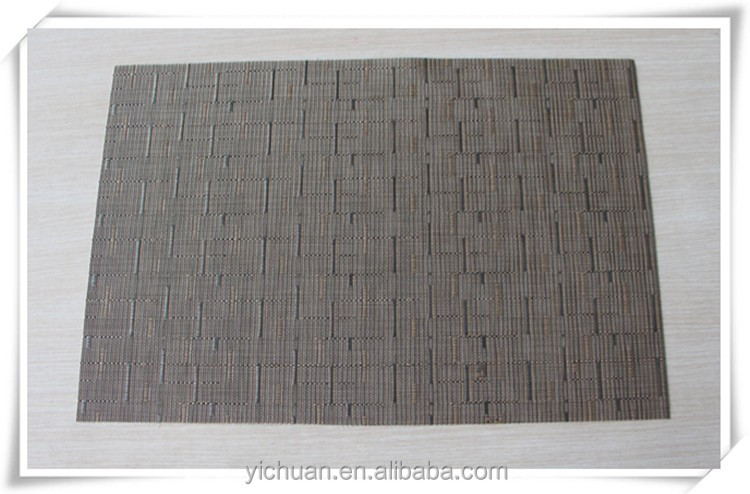 Heat resistant cork backed pvc placemats made in China