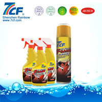 interior car care product of foam cleaner