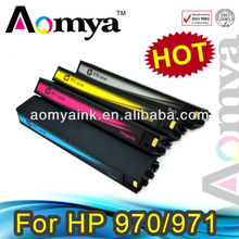 Refillable ink cartridges compatible for 970/ 971 for HP Officejet Pro X551dw/X576dw