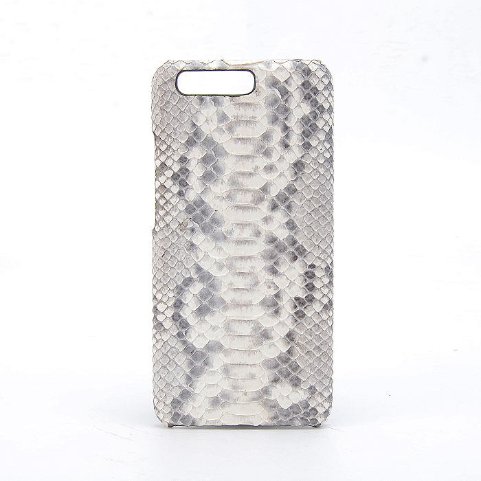 Custom Made Real Python Leather Accessory Phone Case Set