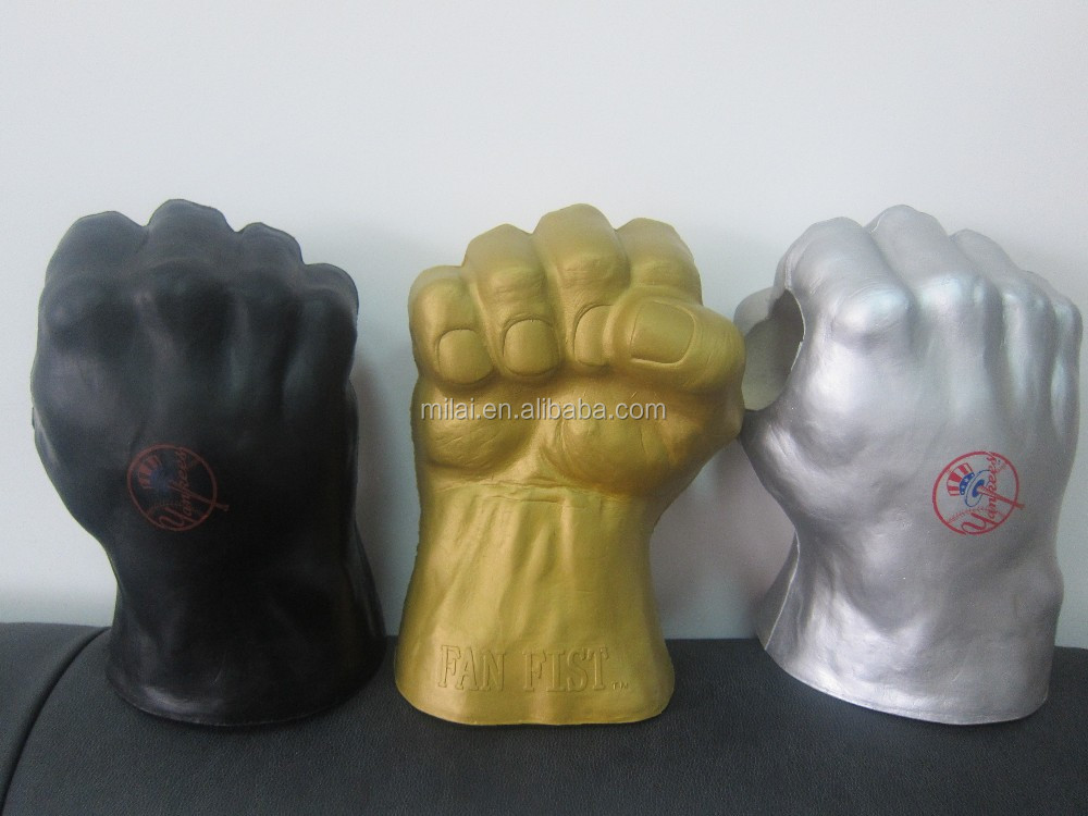 pu stress toy,gaint can holder pu fist
