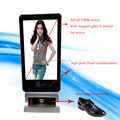 47inch stand alone lcd screen display advertising shoe shine machine Lcd totem display