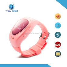 GSM+GPS+LBS baby children wristwatch child gps tracker / wrist watch gps tracking device for kids-caref watch