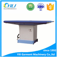 industrial laundry vacuum suction ironing machine board