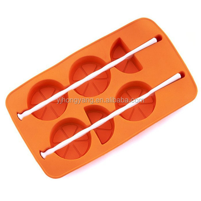 Silicone Ice Cream Mold Shaped Cooler Icing Cube Tray
